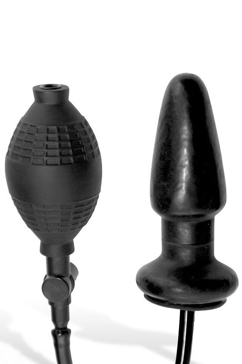 Master Series Inflatable 5″ Anal Plug
