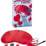 California Exotic Satin Mask, Tickler & Dice Kit