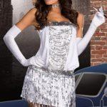 Dreamgirl Flapper Girl 4 Pce Costume