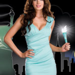 Dreamgirl Miss Liberty 3 Pce Costume