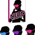 Pipedream Neon Satin Love Mask