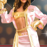 Dreamgirl 4 Pce Sexy Boxing Girl Costume