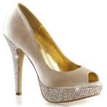 Fabulicious 5″ Heel 1″ Platform Lolita Pump