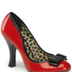 Pin Up Couture 4″ Heel Katie Patent Pump