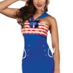 Dreamgirl 2 Pce 'Riding the Waves' Sailor Costume