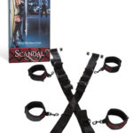 Scandal Over the Door Cross Restraints by California Exotic