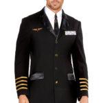 Dreamgirl 4 Pce Pilot Costume