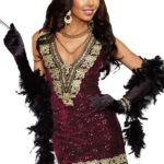 Dreamgirl 2 Pce Flapper Costume
