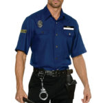 Dreamgirl 6 Pce You're Busted Policeman Costume
