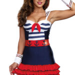 Dreamgirl 5 Pce Cutie Sailor Costume
