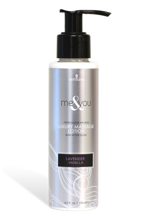 Sensuva Luxury Massage Lotion – Lavender & Vanilla (125ml)