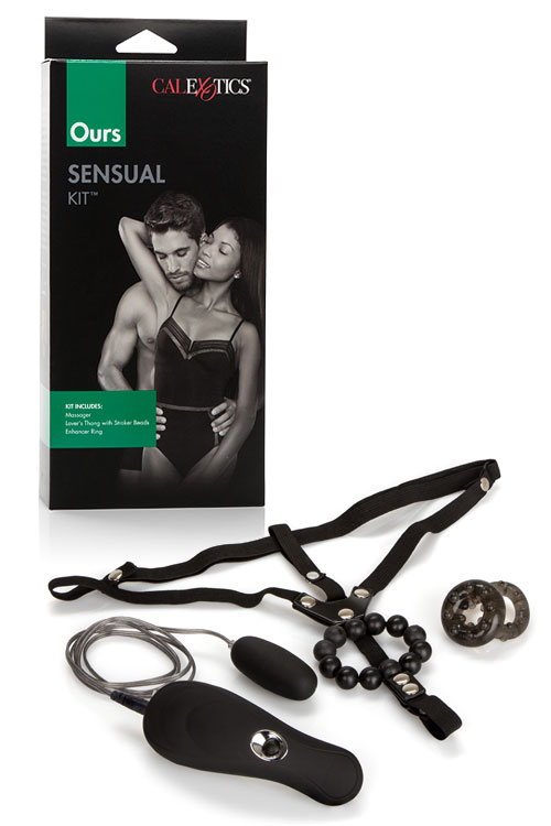 California Exotic 3 Piece Sensual Kit for Couples