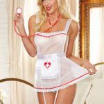 Dreamgirl 4 Pce Nurse Hottie Set