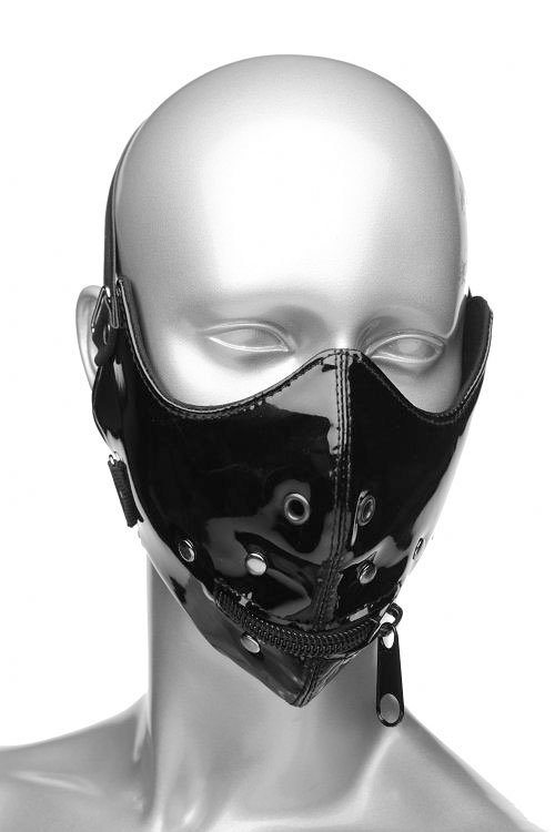 Master Series Lektor Zipper Mouth Muzzle